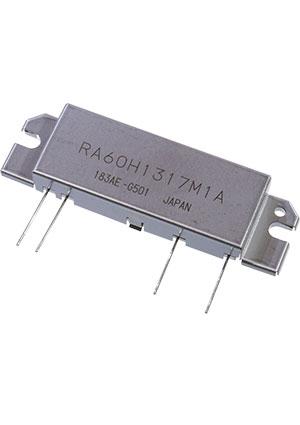 RA60H1317M1A-501, вч тразистор, замена RA60H1317M1A-101 Mitsubishi, цена купить | твердотельные ВЧ модули