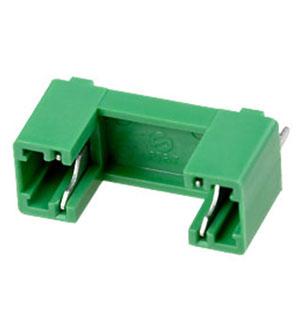 PTF78, держатель предохранителя 5x20 (GREEN_body PCB_Mounting) STO, цена купить | держатели предохранителей