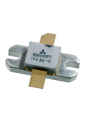 RD60HUF1C-501, Si 520MHz 60W 12.5v ceramic (лоток 9шт), =RD60HUF1-101 Mitsubishi, цена купить | СВЧ транзисторы