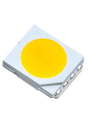 FM-T3528WDS-460T-R80, ЧИП светодиод 3528 PLCC белый 110гр. 7Лм 460нм