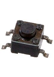 TS-1109S-3-RP-7.5, кнопка тактовая SMD h=3.8мм