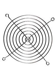 K-G12B08-4HA, решетка метал. для вентилятора 120х120мм (аналог SM7240E)