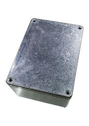 G115, корпус для РЭА 148x108x75мм алюминиевый