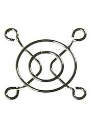 K-G04D02-4HA, решетка метал. для вентилятора 40х40мм (аналог SM7240A)