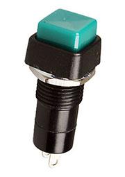 PB-14AGN1-G, кнопка с фикс. 250В 1А зелен.(аналог SPA-103A4 PSW1)