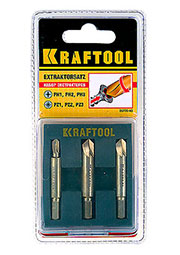 26770-H3, Набор экстракторов для выкручивания крепежа с износом граней