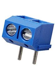 311-021-12, клеммник винтовой 2 контакта 5мм угловой (DG301R-5.0-02P)