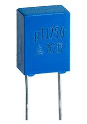 B32529C3104J189, конденсатор пленочный 0.1 мкФ 250 В 5%
