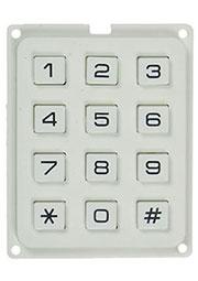 AK-304FM-N-WWB, клавиатура