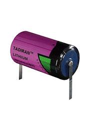 SL-2870/T, батарейка Li-SOCl2 3.6В 8.5Ачас Д26.2*50 -55+85гр лепестки
