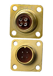 PY04-4Z, вилка на корпус IP68 4 контакта (аналог РС4ТВ)