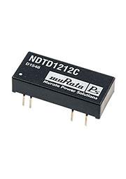 NDTD1212C, DC/DC TH 3Вт 12В-12В DIP24 (THI1221)