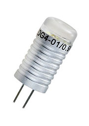 AR-G4 0.9W 1224 12V WHITE, Лампа G4 св.поток 80lm. 0.9W,питание 12VDC