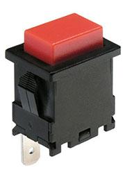 LC-8302BROT-G, кнопка красн.без фикс. 250В 10A (аналог EP-11)