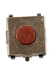 IT-1157JSNP-130G-G, кнопка тактовая SMD с заз. h=2.5мм в катушке