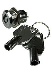 SJ-0603, Выключатель-замок электрический для РЭА с ключом