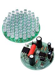 EK-LIGHT64, светодиод.сборка 64св.д + преобр.напр. И стабилизатор тока