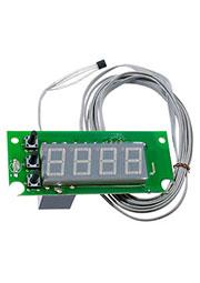 STH0024UG-V3, встр.цифр.,термостат,с выносн датч.,.зелен.,-55+125