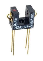 HOA1875-002, 5.08 мм щелевой ИК оптический датчик, транз.выход 0.6 мА