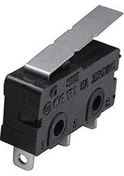 SM5-02N-38G-G, микропереключатель с лапкой 250В 5A