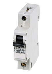 60012, Автоматический выключатель 1 полюс.20А, тип В