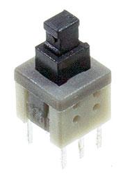 L-KLS7-P5.8X5.8 0 (NON LOCK), кнопка без фиксации 5.8мм 30В 0.1А (PS580N)