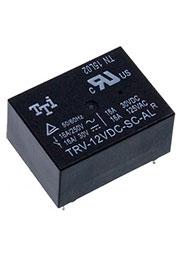 TRV-12VDC-SC-AL-R, Реле электромеханическое
