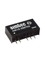 AM1D-0505DZ, SIP7, Возможная замена: AM1DS-0505DJZ