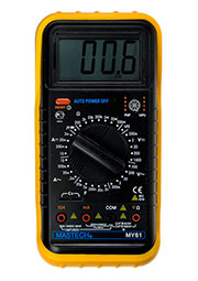 MY61, Мультиметр цифровой