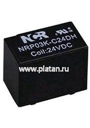 NRP-03K-C-12D-H, Реле 1 пер. 12V / 2A, 120VAC