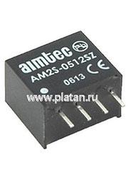 AM2S-1205SZ, DC/DC преобразователь, 2Вт, вход 10.8-13.2В, выход 5В/400мА