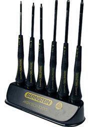 6-660, Набор отверток антистатических, 140-150мм,  звездочка  Torx Т5-Т10
