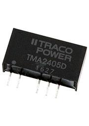 TMA 2405D, DC/DC преобразователь, 1Вт, вход 21.6-26.4В, выход 5,-5В/100мА