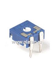 CA9V, 100 кОм, Резистор подстроечный