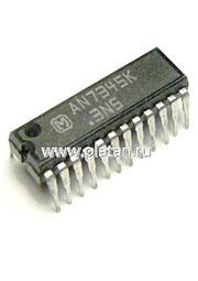 AN7345K, Двухканальный усилитель записи/ воспроизведения для двухкассетных магнитол