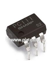 PC111 [TIL111], Оптопара транзисторная [DIP-6]