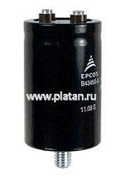 B43458-A9338-M, Конденсатор электролитический алюминиевый