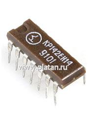 КР142ЕН14 (90-97г), Регулируемый стабилизатор положительного напряжения +2В +37В, 150мА