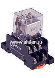 SQ0701-0024, Реле 3 пер. 10A/230VAC (без модульного разъема)