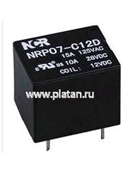 NRP-07-C-05D, Реле 1 пер. 5V / 7A, 250VAC