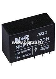 NRP-14-A-12D-H, Реле 1 зам. 12V / 16A, 250VAC