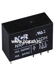 NRP-14-C-24D-H, Реле 1 пер. 24V / 16A, 240VAC