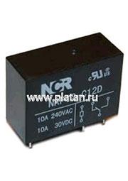 NRP-12-B-12D-H, Реле 1 разм. 12VDC / 10A, 250VAC