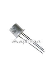 КТ117Б НИКЕЛЬ, Транзистор однопереходной с N-базой малой мощности [металл]