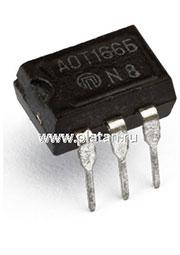 АОТ166А, Оптопара транзисторная [DIP-6] (5П32Е)