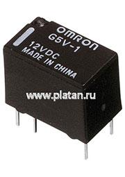 G5V1 12DC, Реле 12VDC 1 пер. 0,5A/125VAC