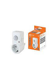 SQ0324-0027, Датчик движения розеточный (ДДР-01) 1200Вт, 10-420с, 2-9м, 3+лк, 120гр, IP20