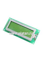 MT-16S2D-2YLG, ЖКИ 16х2 англо-русский, с подсветкой