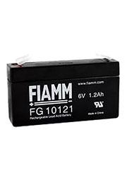 FG10121, аккумулятор 6В, 1.2АЧ, 97х25х52