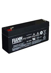 FG10301, аккумулятор 6В, 3.0АЧ, 134х34х60